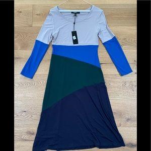 BCBG 'Corina' color block dress